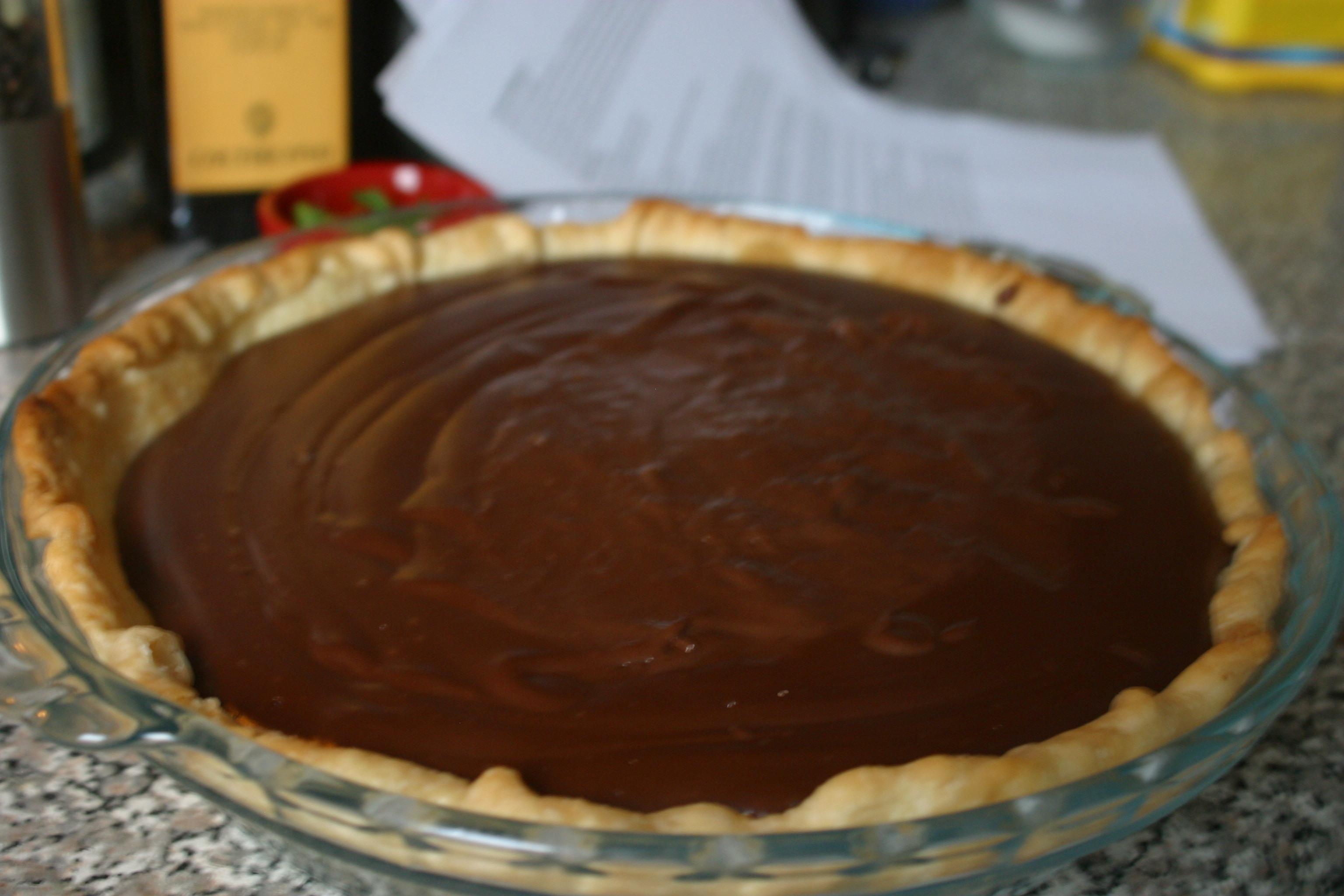 Happy Half-Tau (π) Day Chocolate Pudding Pie   Artful Wish